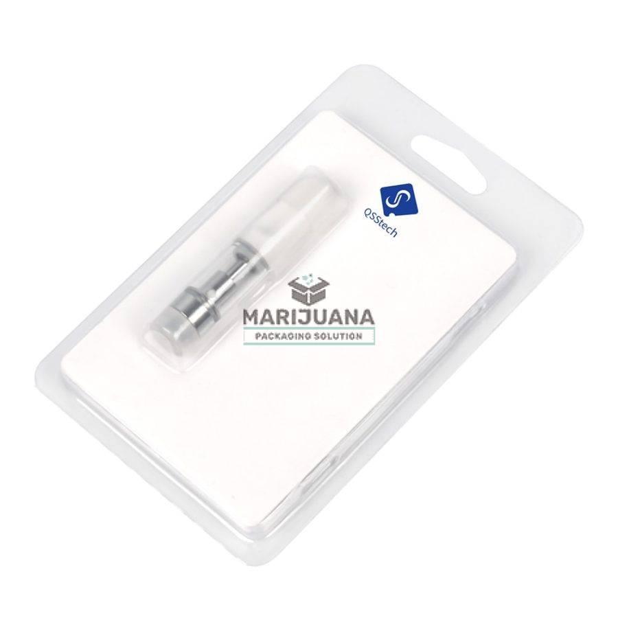 clear plastic blister pack for vape cartridge