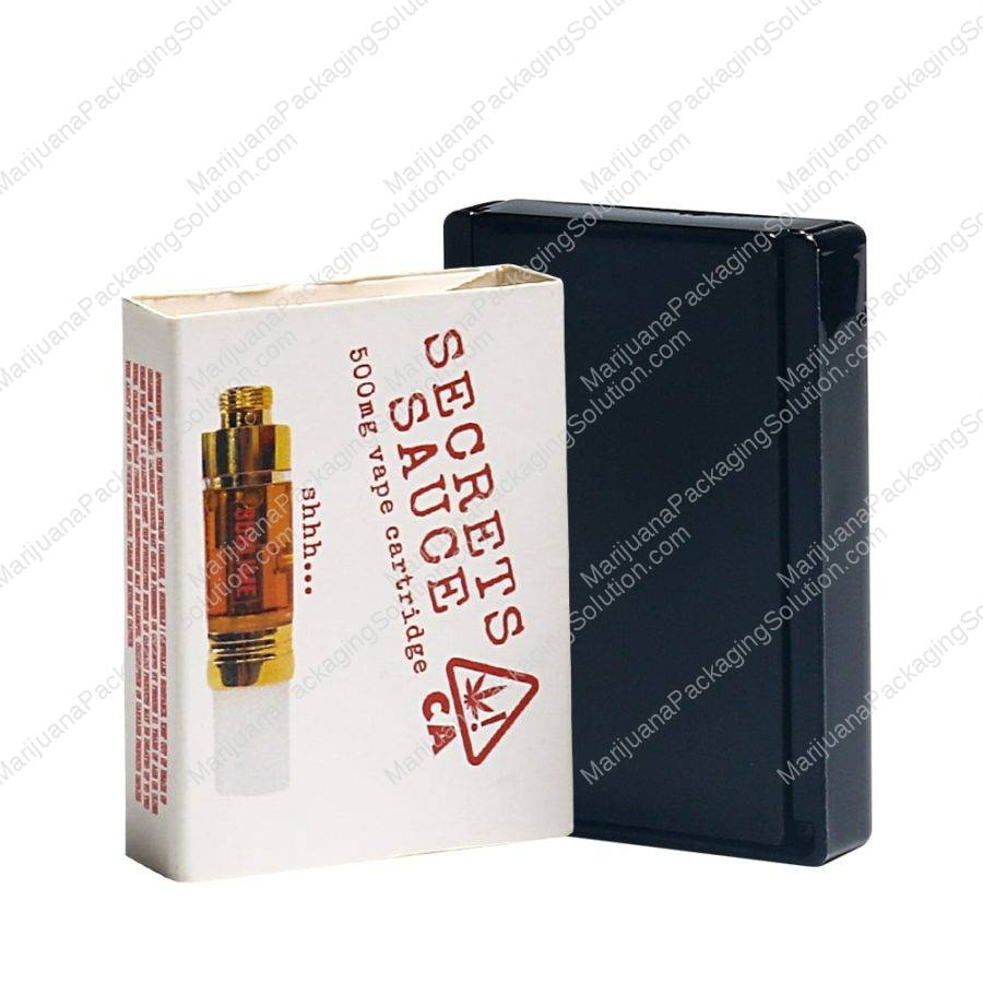 Vaporizer cartridge packaging box