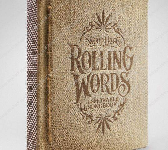 Rolling Words Rolling Paper