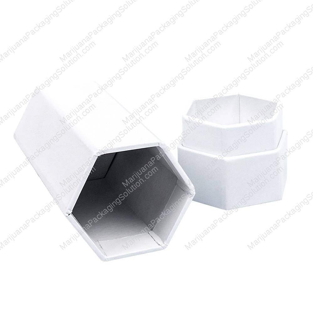 Hexagon Shaped Paperboard Cylinder