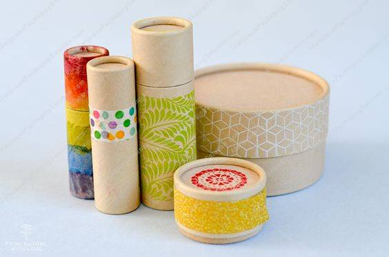paper tubes as secondary packaging option for hemp or CBD oil