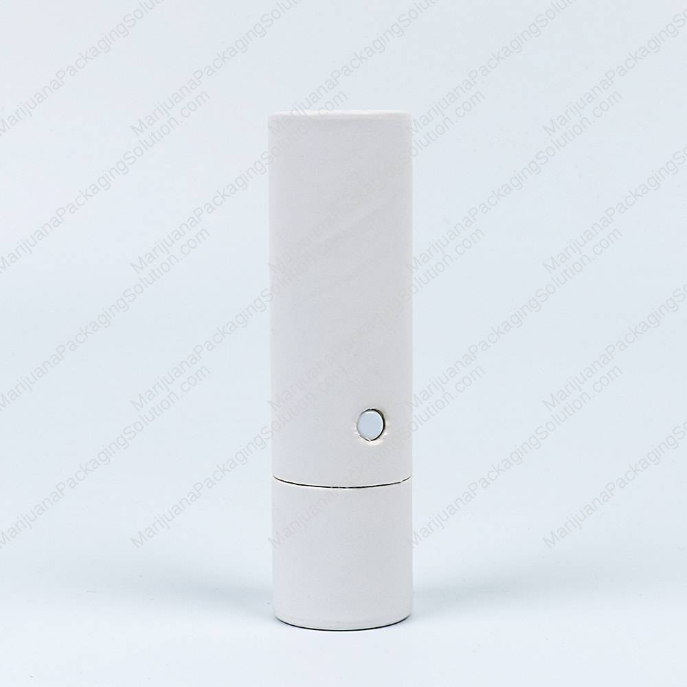 Childproof paperboard tubes for oil tank cartridges by Marijuana Packaging Solution