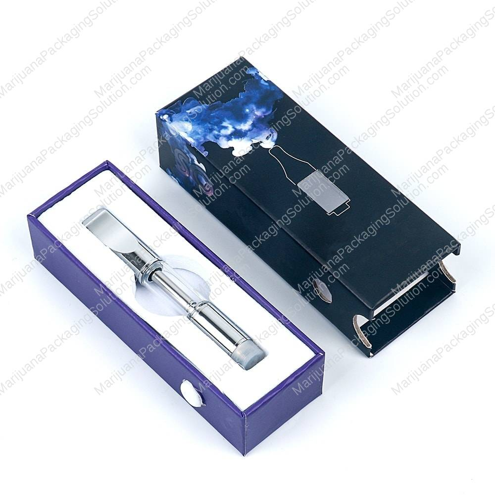 Child resistant certified cartridge box by Marijuana Packaging Solution