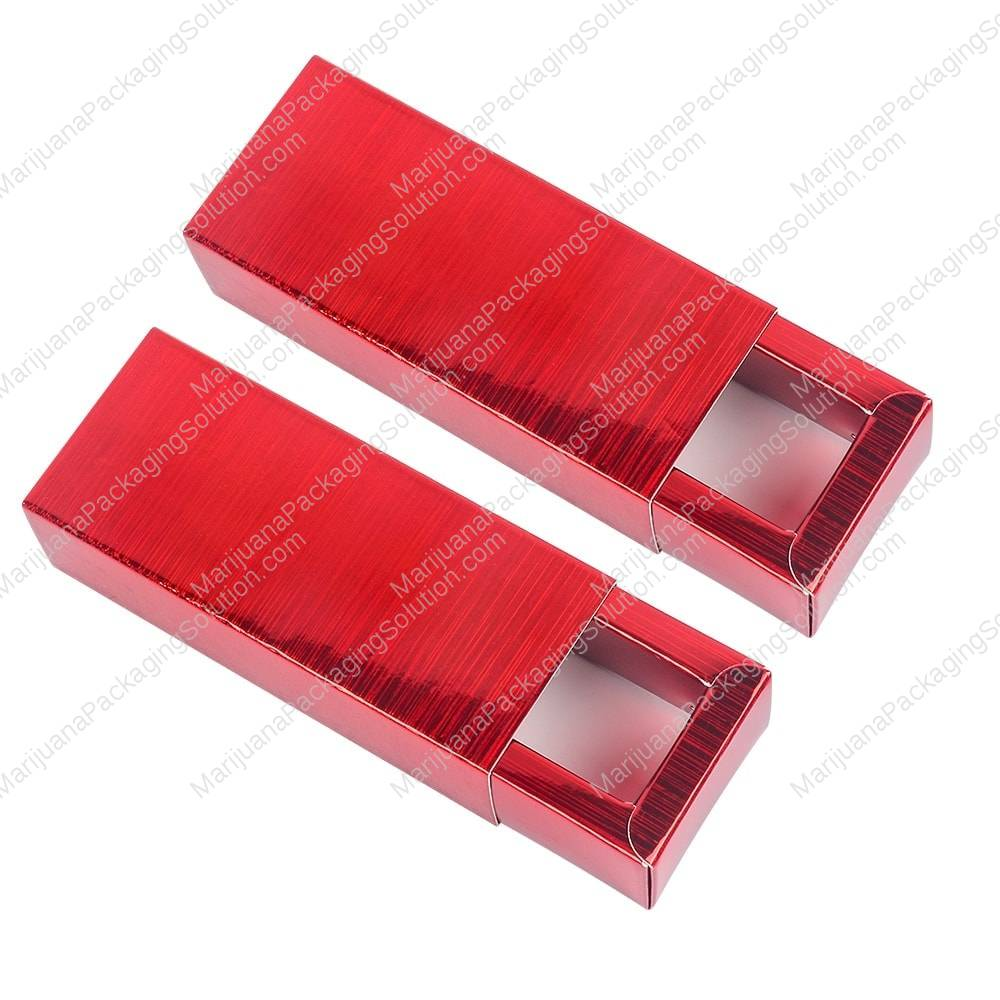 Sliding box with outer sleeve by Marijuana Packaging Solution