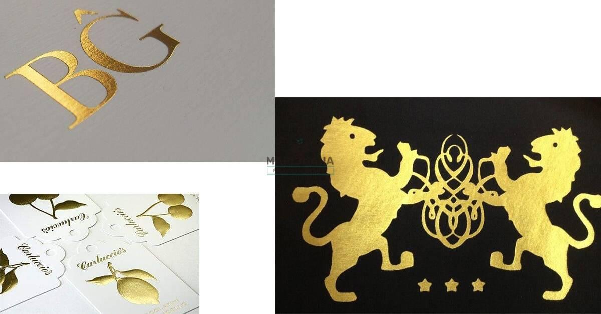Gold Foil Stamp