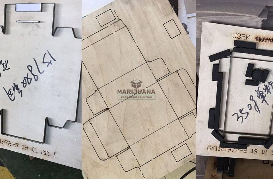 die-cut mold