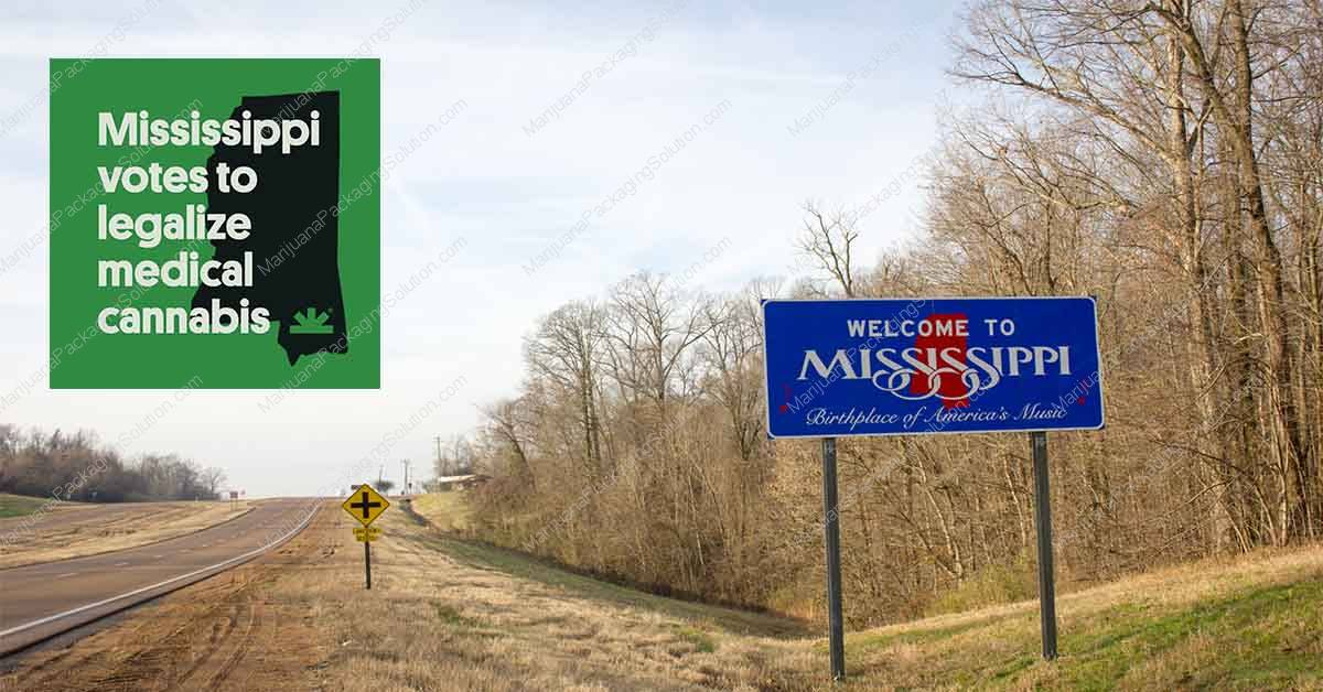 Mississippi is now the 35th state to establish a medical marijuana program