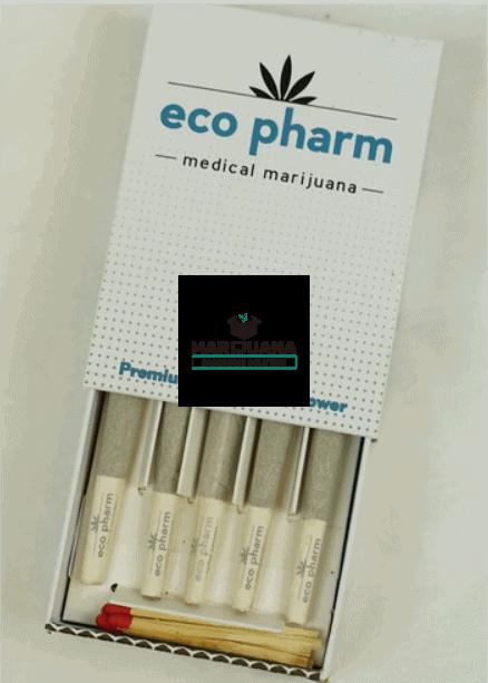 Cardboard pre-roll packaging slide box