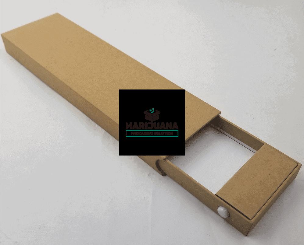 Child-resistant slide box