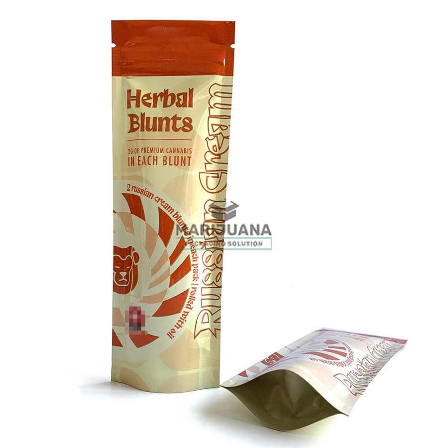 cannabis blunt mylar packaging