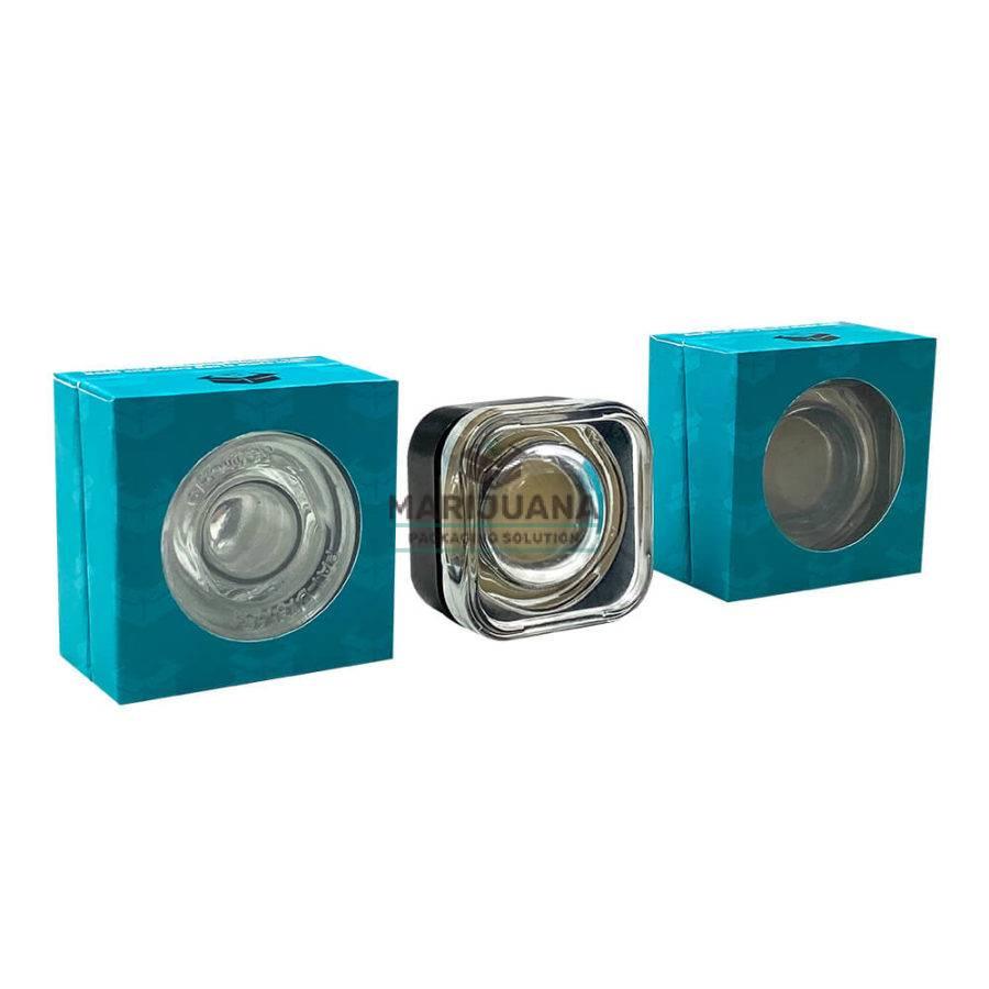 cannabis wax container rigid box