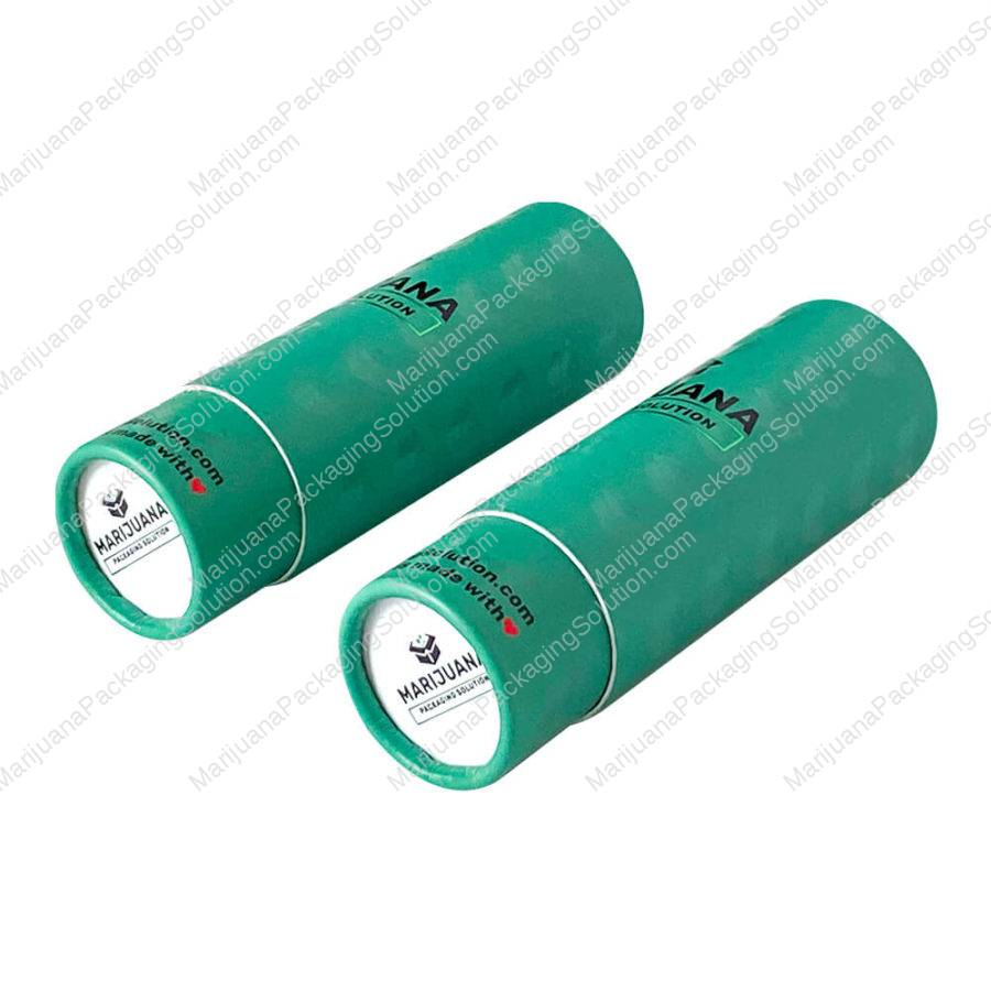 custom-reversible-cap vials-paper-tube