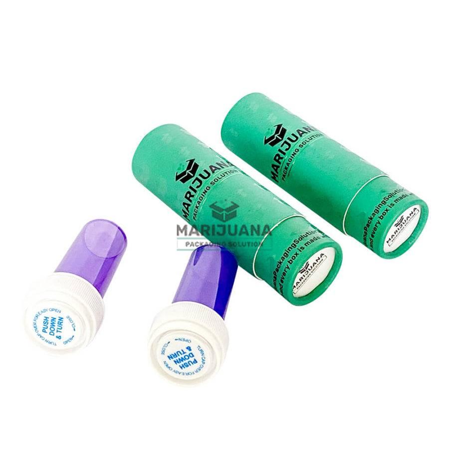 cannabis-flower-reversible-cap vials-packaging-tube