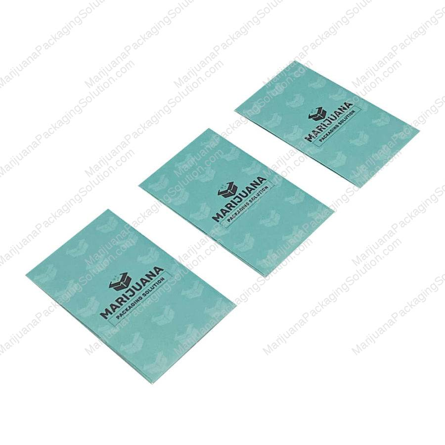 custom printed shatter packaging envelops
