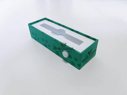 inner tray of rigid slide box