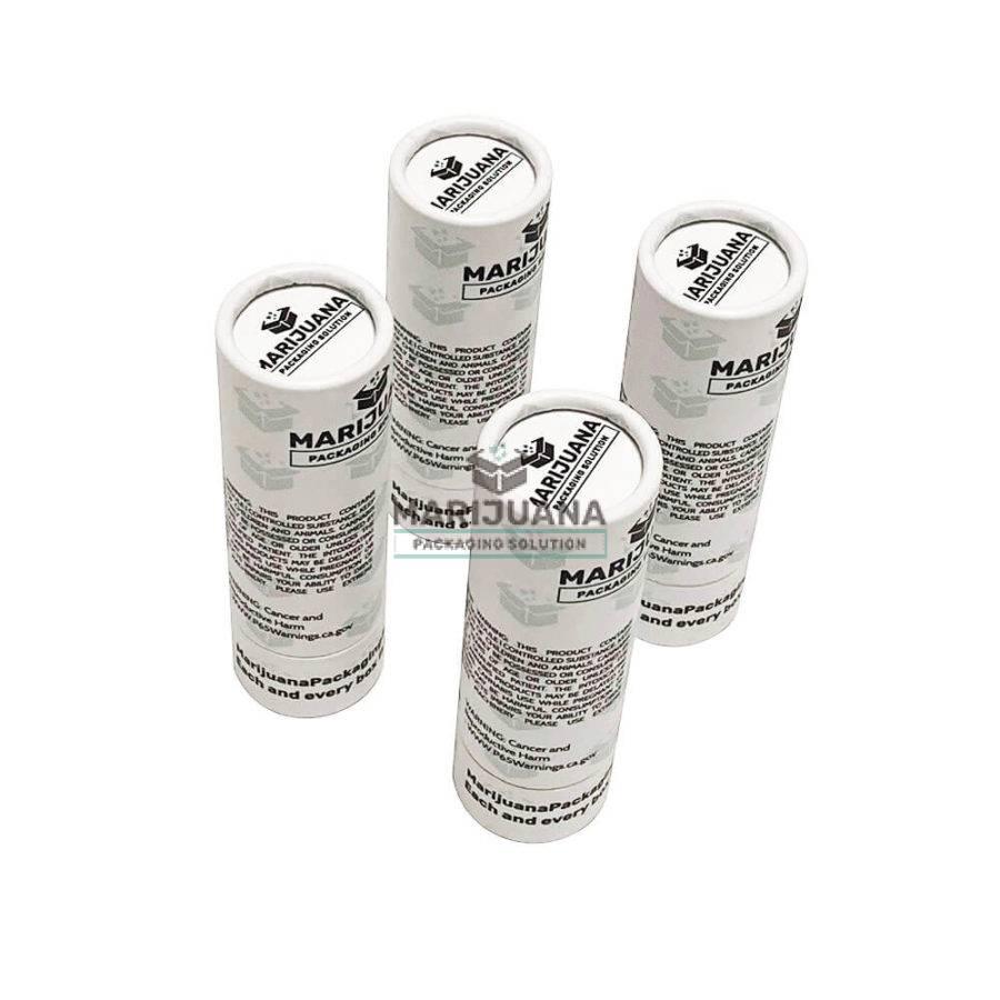 custom printed pre roll tubes packaging
