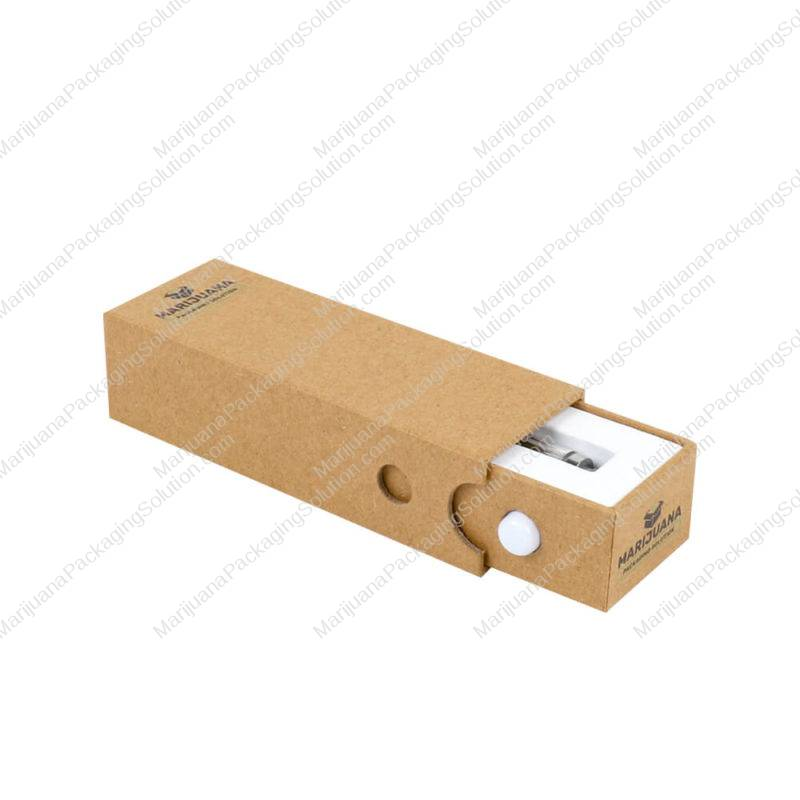 kraft box for cartridge packaging childproof pic
