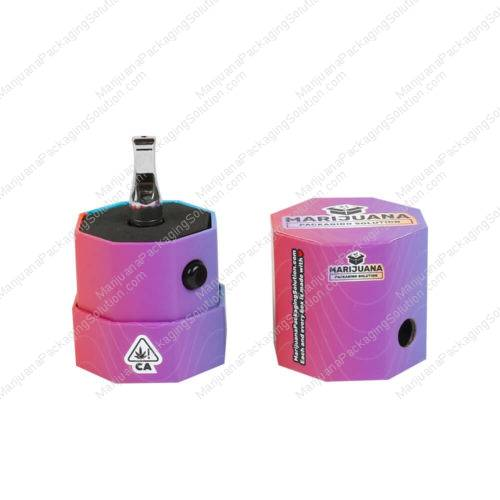 child-resistant octagon boxes for carts packaging pic