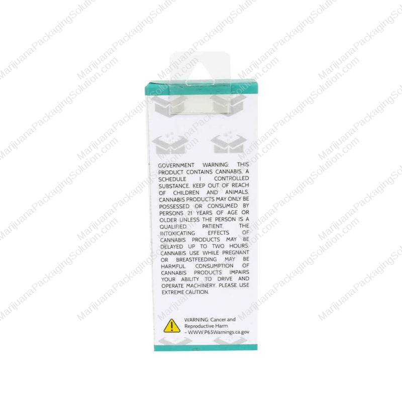 custom printing cart packaging boxes with hang tabs pic