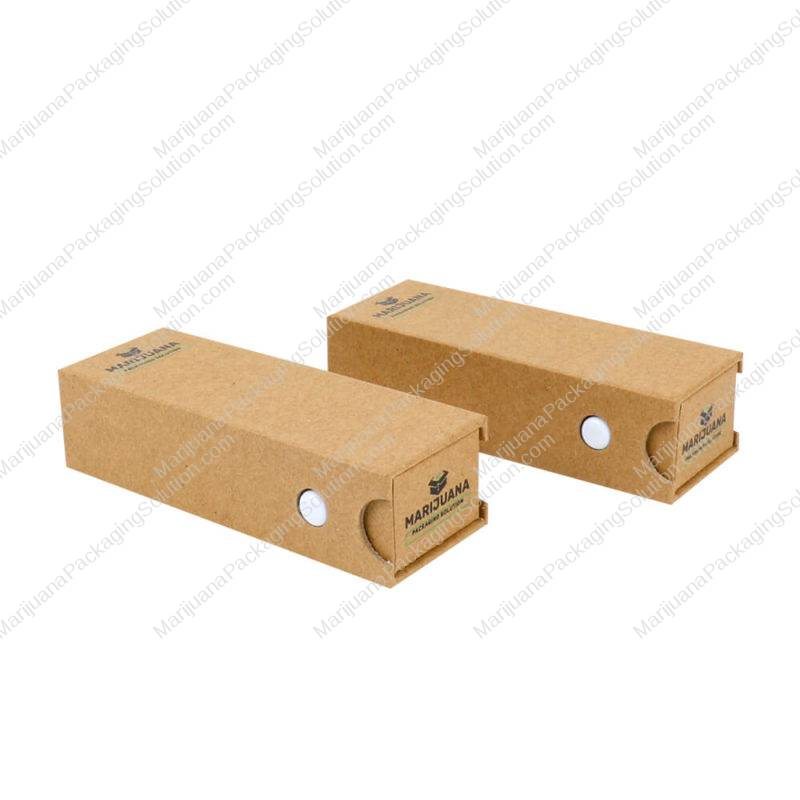 childsafe kraft box vape cartridge packaging pic