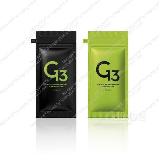 minimalism design in cannabis packaging 2