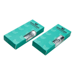 vape cartridge box packaging