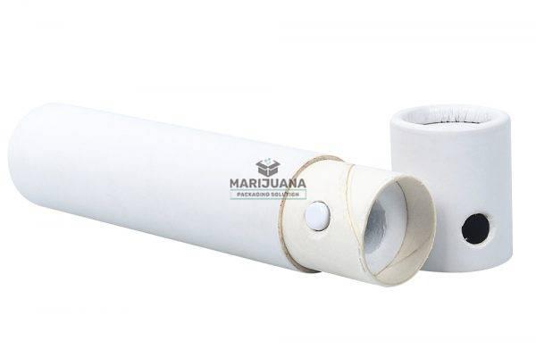 child resistant paper tube