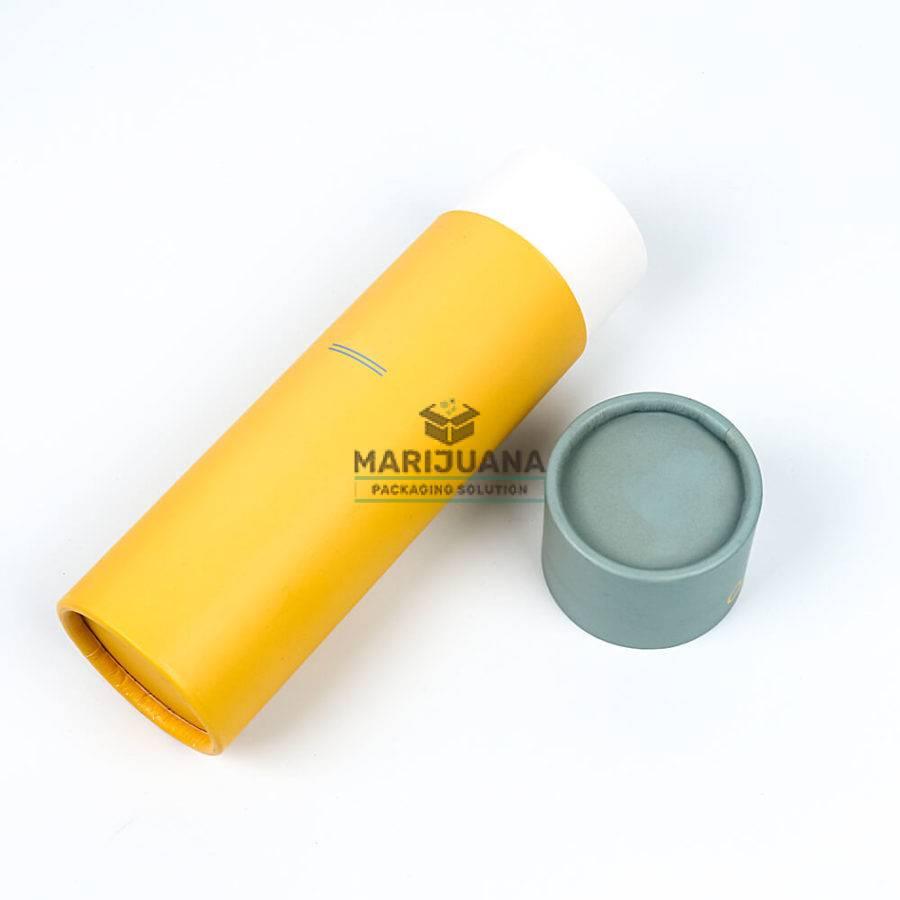 hemp oil dropper bottle paper tubes