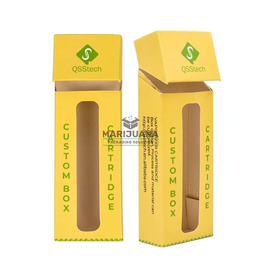 Cigarette box for CBD cartridge by Marijuana Packaging Solution