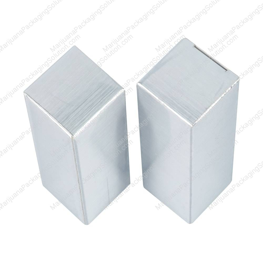 Custom small paper box for CBD cartridge by Marijuana Packaging Solution