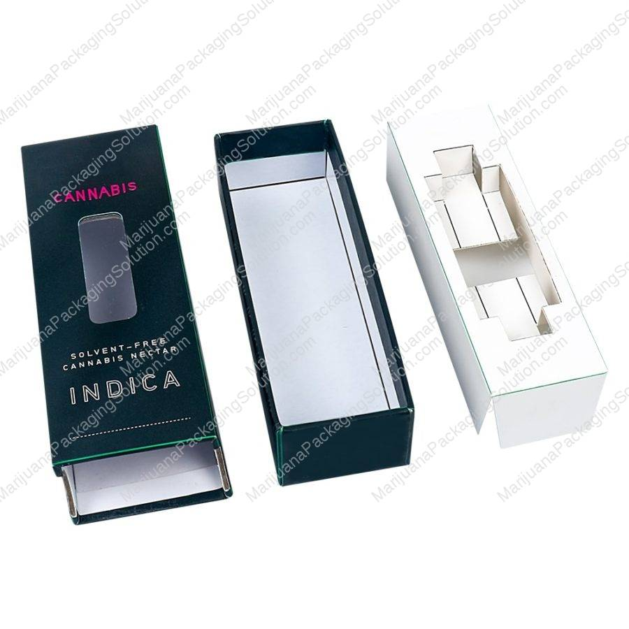 thc vape cartridges packaging box