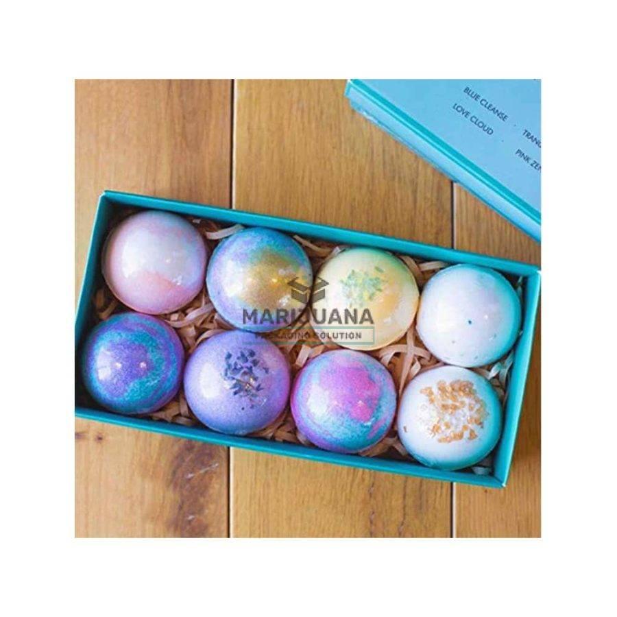 CBD bath bomb packaging boxes