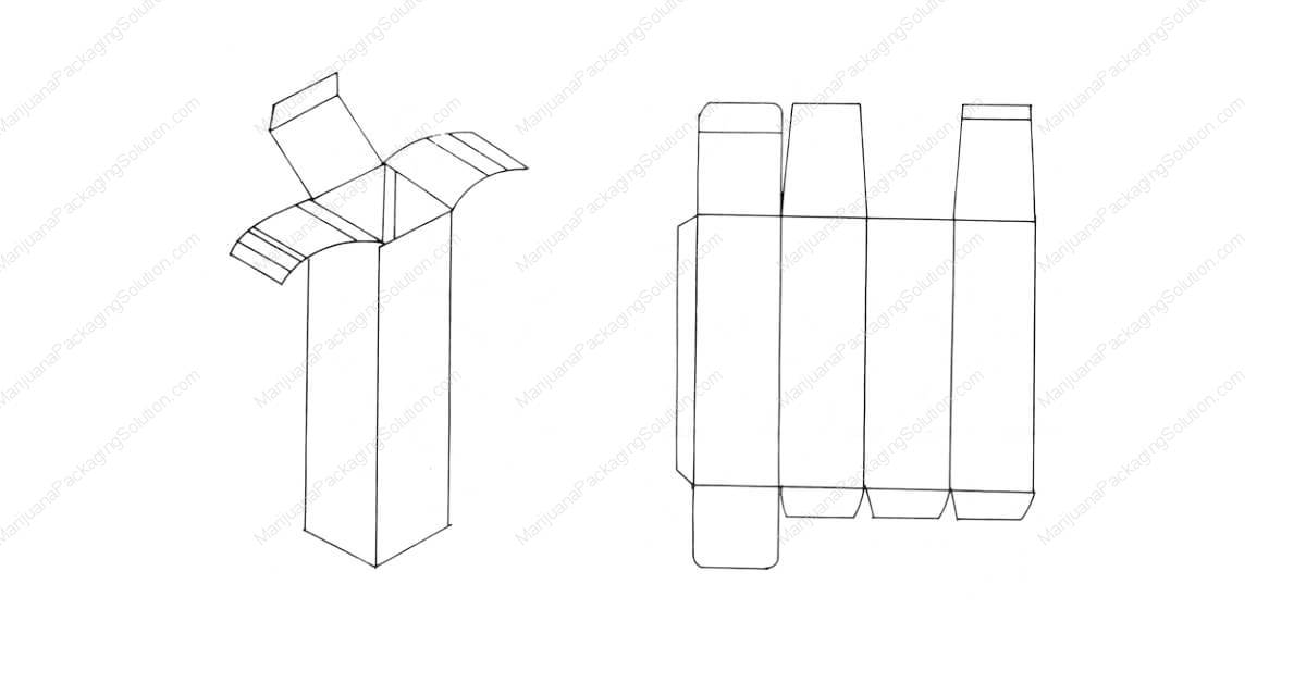 Cylinder-shaped box for bottles,side bonded, bottom bonded, and top inserted.