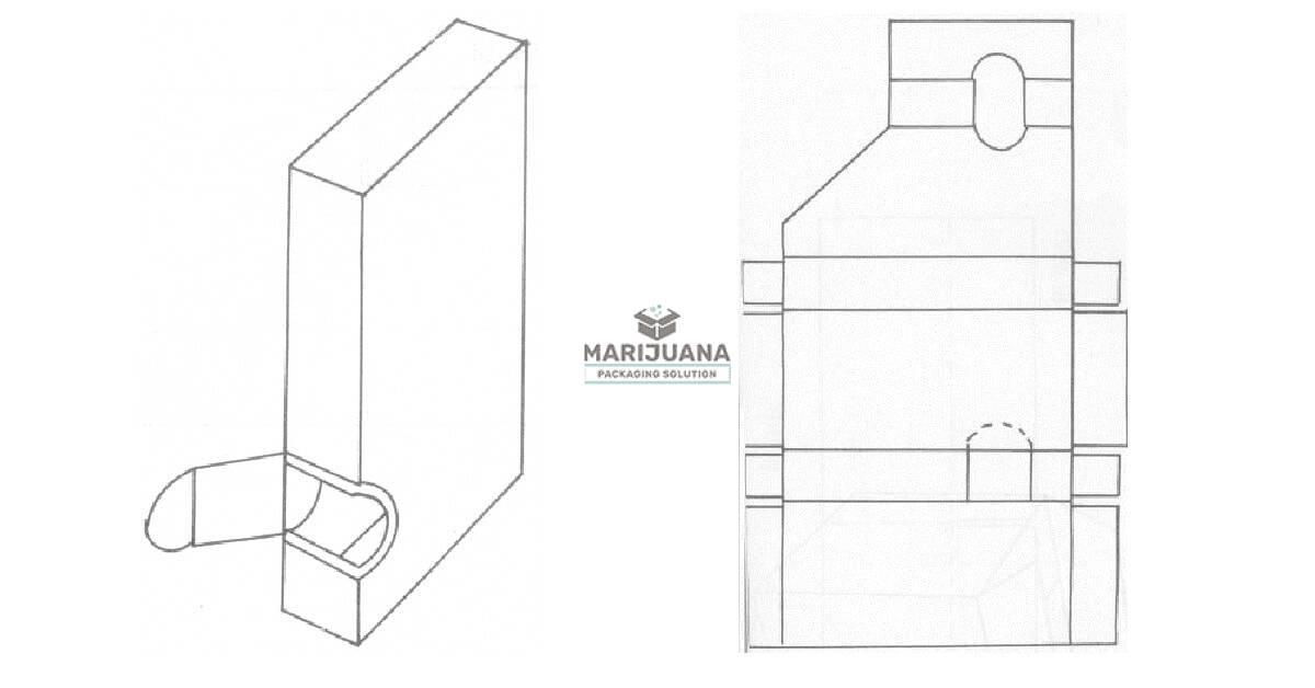 Vibrating outlet box