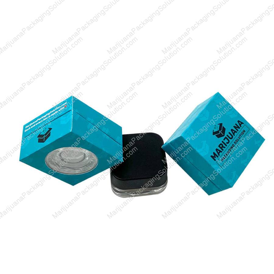 CBD concentrates rigid box