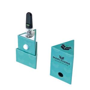 child-resistant triangle-cartridge-box