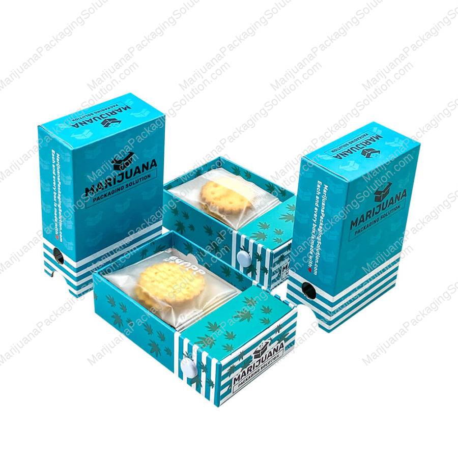 medical cannabis cookies rigid boxes