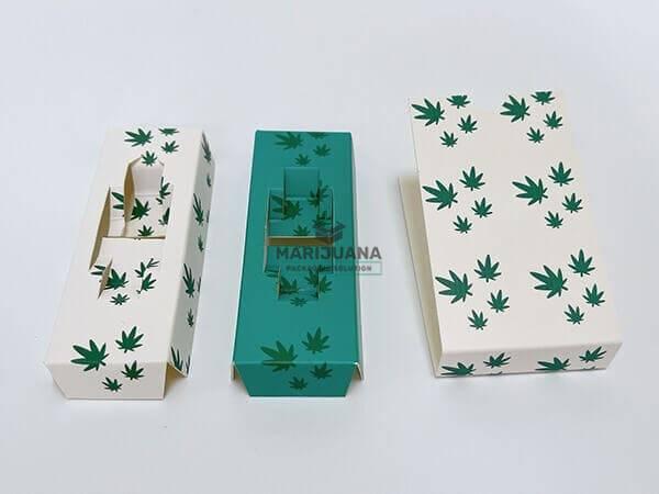 paperboard inserts of cardboard slide boxes