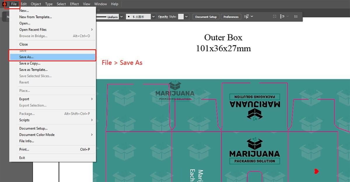 How to save PDF files in Adobe Illustrator for printing