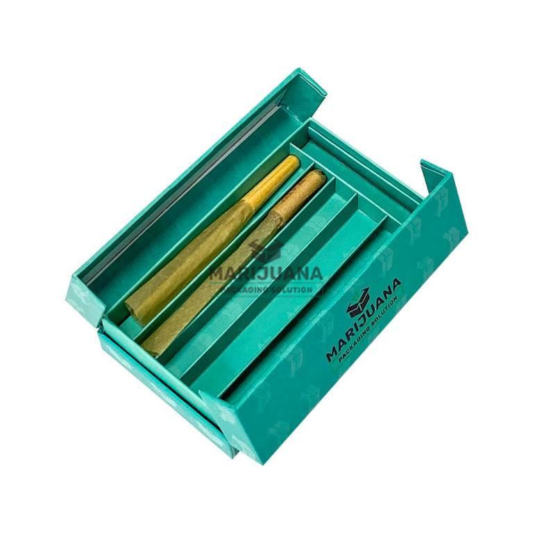 cannabis pre roll packaging book style box