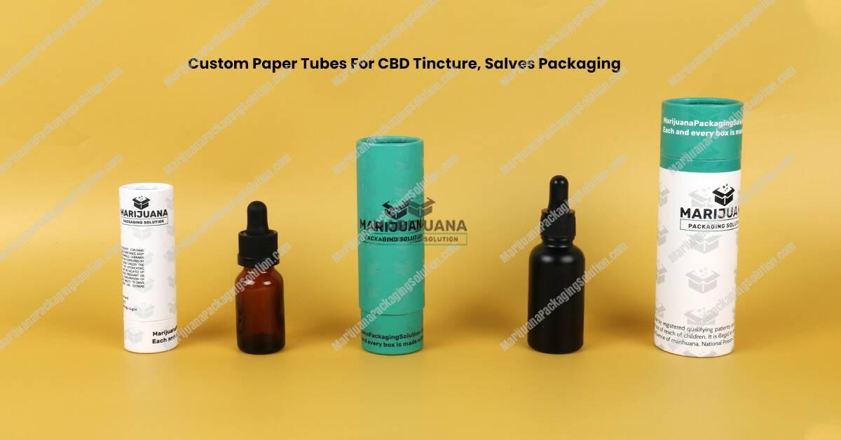 CBD Tincture Packaging Tubes