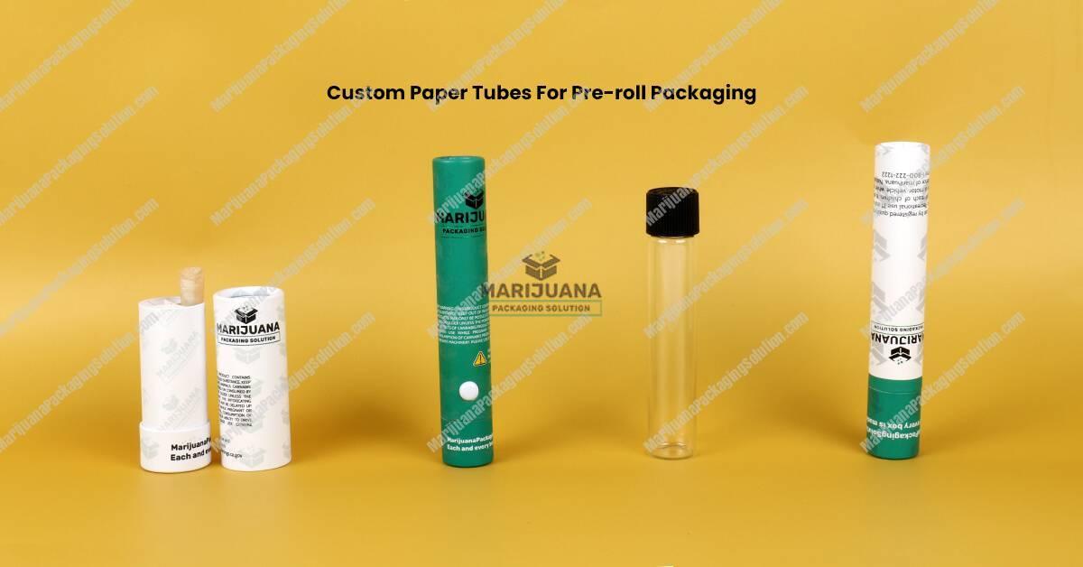 Cannabis Pre-roll Packaging Paper Tube