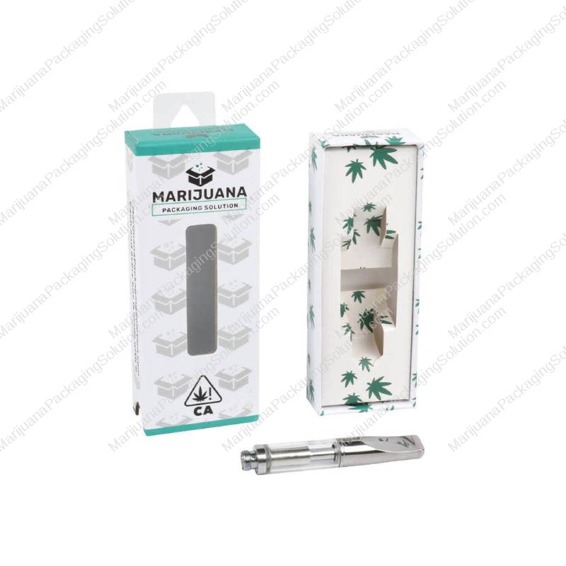 cart packaging slide box with hang tab main pic