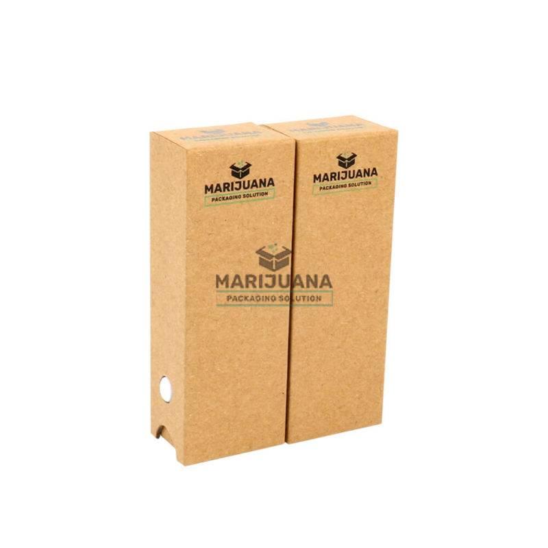 eco-friendly kraft packaging cartridge box pic